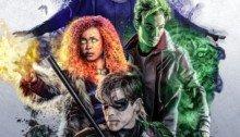Poster de la série DC Universe, Titans, avec l'équipe
