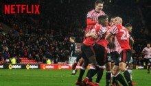 Photo de la docu-série Netflix, Sunderland : Envers et contre tous