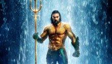 Affiche française du film Aquaman avec Jason Momoa