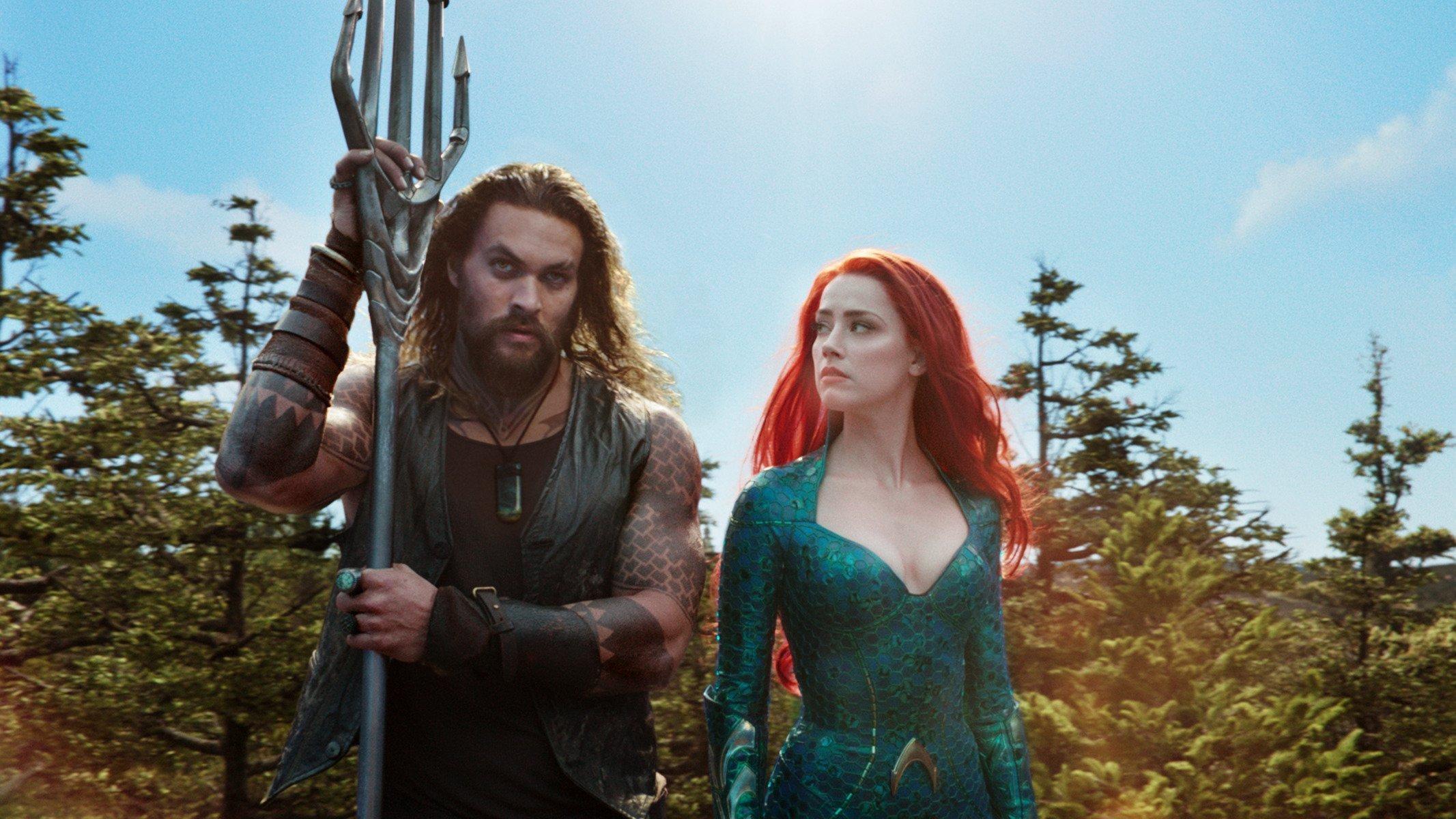 Photo du film Aquaman réalisé par James Wan avec Arthur et Mera
