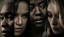 Affiche française du film Les Veuves réalisé par Steve McQueen avec Viola Davis, Liam Neeson, Jon Bernthal, Michelle Rodriguez, Elizabeth Debicki
