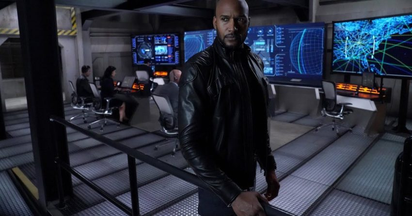 Photo de la sixième saison de la série Agents of SHIELD avec Henry Simmons