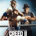 Affiche française du film Creed II avec Michael B. Jordan et Sylvester Stallone