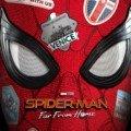 Poster du film Spider-Man: Far From Home réalisé par Jon Watts, d'après un scénario de Chris McKenna et Erik Sommers, avec Tom Holland, Zendaya, Jon Favreau, Marisa Tomei, Samuel L. Jackson et Jake Gyllenhaal