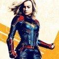 Poster pop pour le film Captain Marvel avec Brie Larson