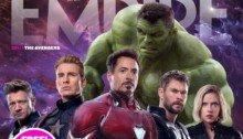 Couverture du magazine Empire dont la Une est consacrée à Avengers: Endgame