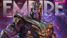 Couverture du magazine Empire dont la Une est consacrée à Avengers: Endgame avec Thanos