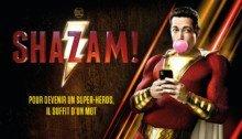 Affiche française du film Shazam! réalisé par David F. Sandberg avec Zachary Levi