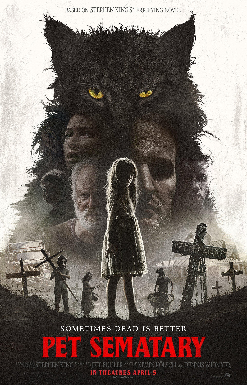 Poster du film Simetierre (2019) réalisé par Kevin Kölsch et Dennis Widmyer avec Jason Clarke, Amy Seimetz, John Lithgow