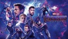 Bannière du film Avengers: Endgame réalisé par Anthony et Joe Russo