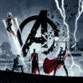 Première bannière pour le film Avengers: Endgame par Ryan Meinerding