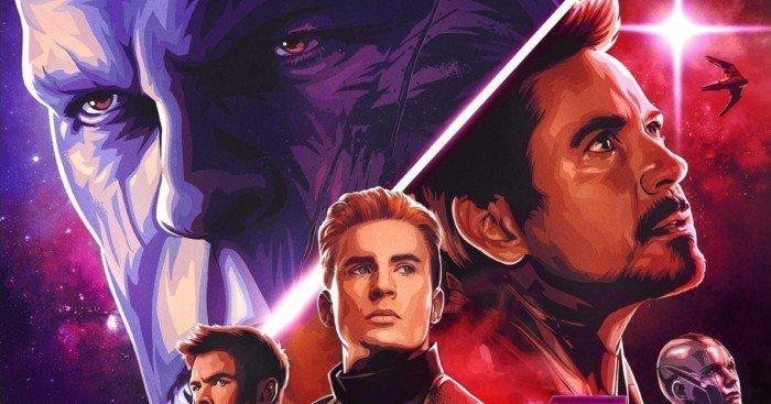 Poster Dolby du film Avengers: Endgame réalisé par Anthony et Joe Russo