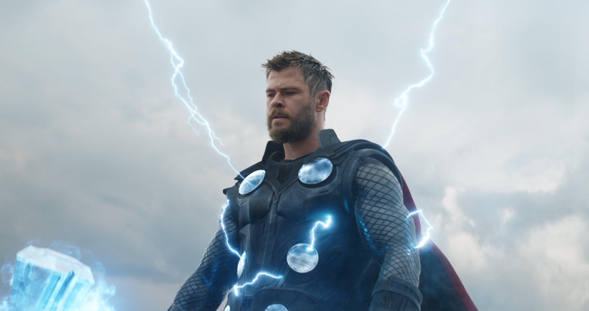 Photo du film Avengers: Endgame avec Thor (Chris Hemsworth)
