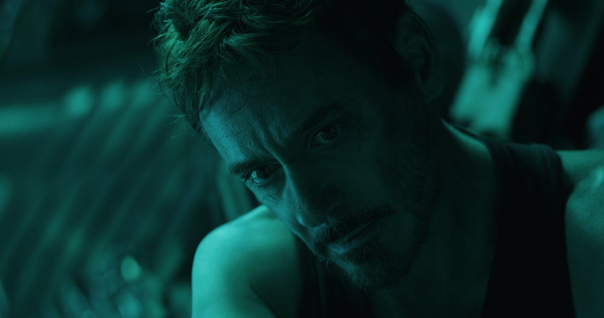 Photo du film Avengers: Endgame avec Tony Stark (Robert Downey Jr.)