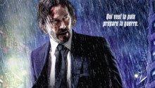 Affiche française du film John Wick Parabellum réalisé par Chad Stahelski, d'après un scénario de Derek Kolstad, avec Keanu Reeves