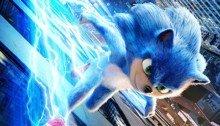 Poster de Sonic, le film (Sonic the Hedgehog en VO) réalisé par Jeff Fowler