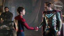 Photo du film Spider-Man: Far From Home avec Tom Holland et Jake Gyllenhaal