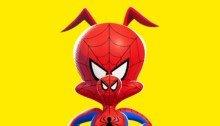 Poster du film Spider-Man: New Generation avec Spider-Ham