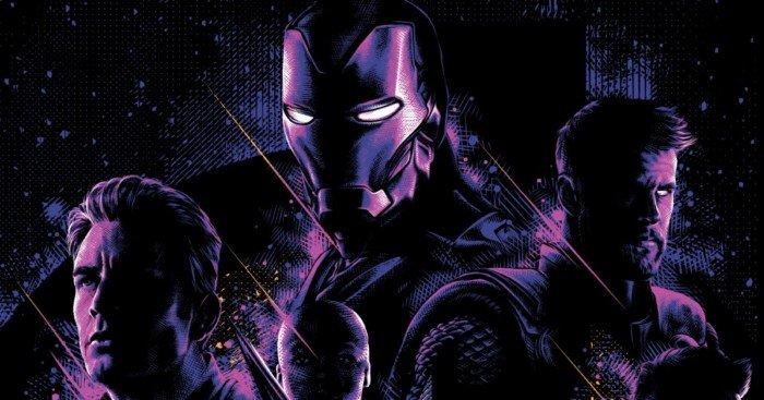 Poster du film Avengers: Endgame par Tracie Ching