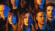 Poster de la sixième saison de la série Agents of SHIELD avec le casting principal