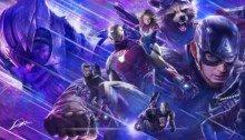 Concept art du film Avengers: Endgame par Alexander Lozano