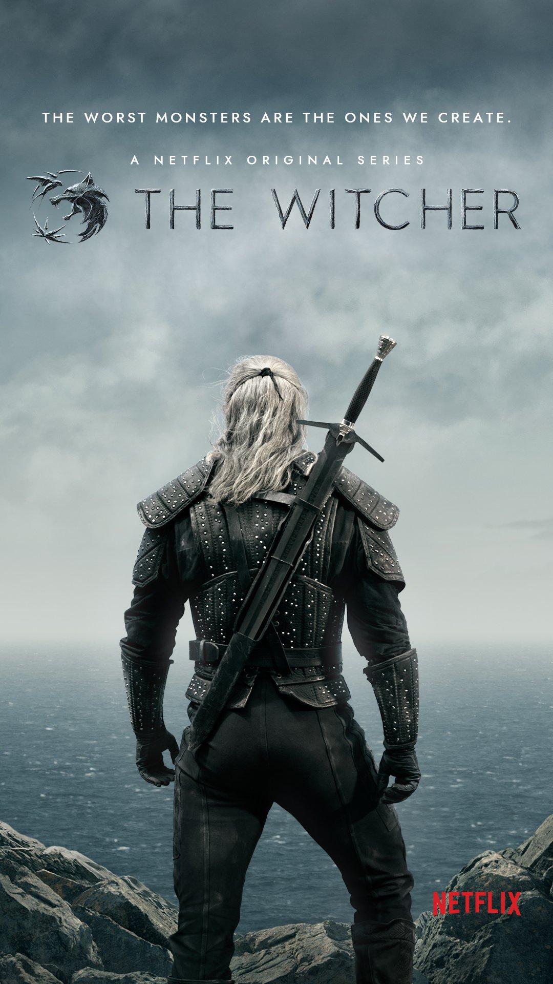 """Résultat de recherche d'images pour """"The Witcher poster netflix"""""""