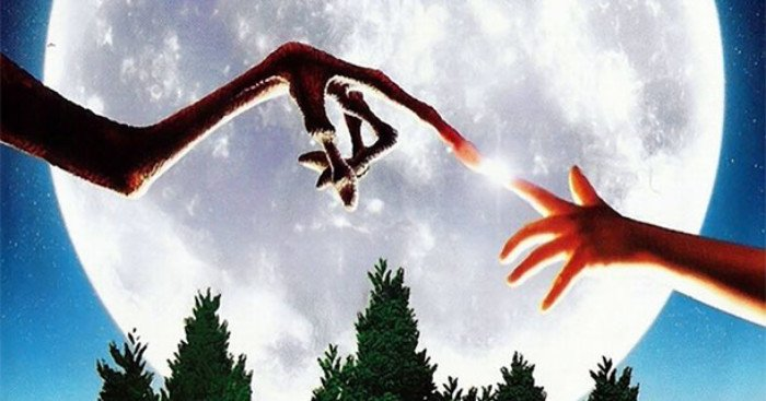 Bannière pour la critique d'E.T. l'extra-terrestre