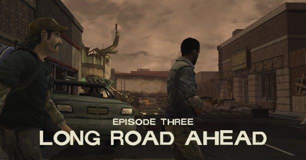 Bannière pour le jeu vidéo The Walking Dead Episode 3 Long Road Ahead